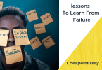 life lesson to learn from failure