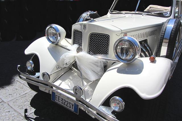 wedding limo decoration