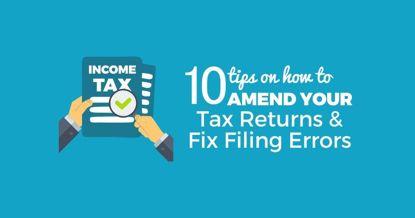 Amend your Tax Returns