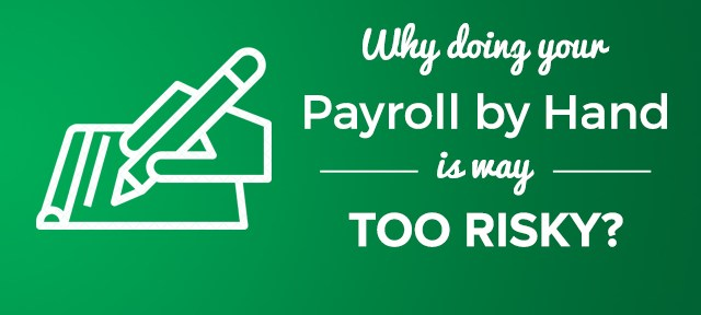 payroll by hand