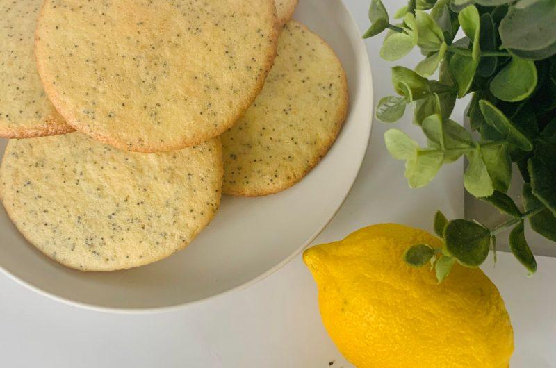 Eierkoek maanzaad - citroen