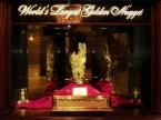 Protégée derrière une vitrine du Golden Nugget Casino