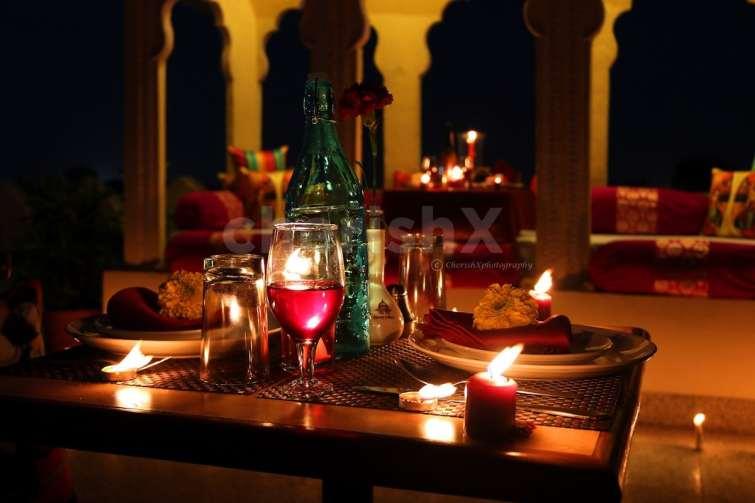 a royal dinner