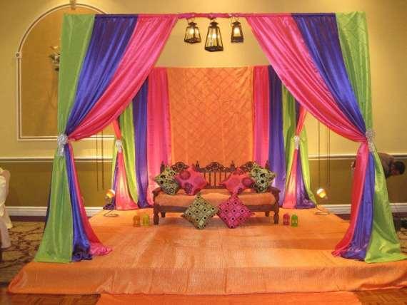 pre wedding decorations