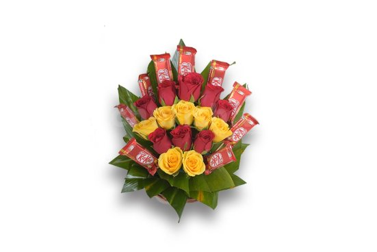 How to Choose a Perfect Gift For Your Fun-loving Girlfriend-chocolate and flowers