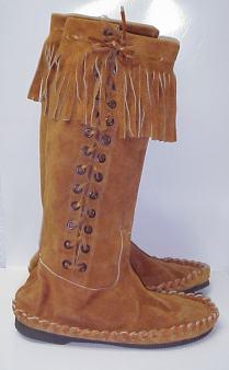 Fringe Boots Men