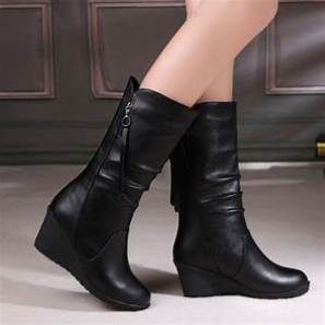 wedge boots women