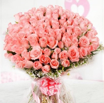 12 Best Flowers to Gift Your Beloved on Valentine's Day-pink roses
