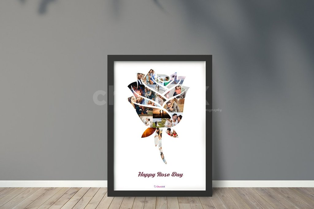How to Celebrate Rose Day Without Roses- Rose day photo frame