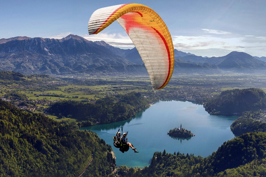 Top 9 most fascinating adventure sports that you should definitely try-Paragliding