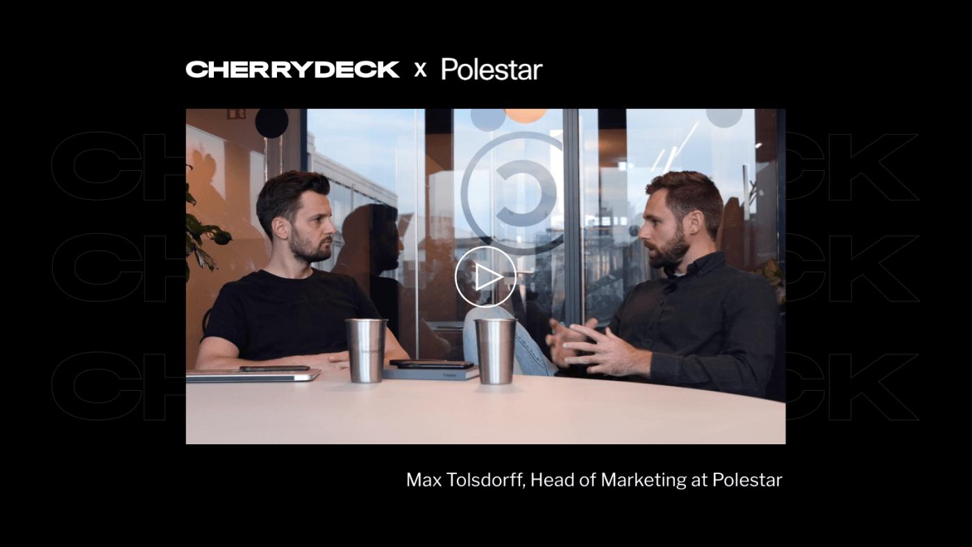 Cherrydeck talks to Polestar Max Tolsdorff