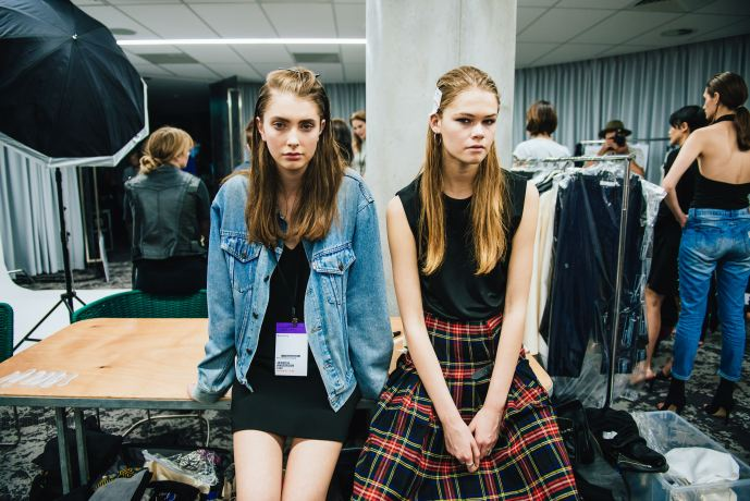 Models on Backstage - picture from Flaunter