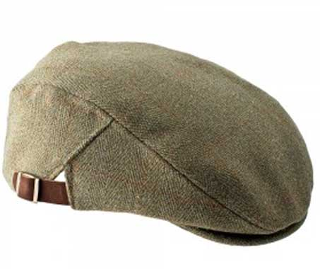Adjustable Tweed Flat Cap