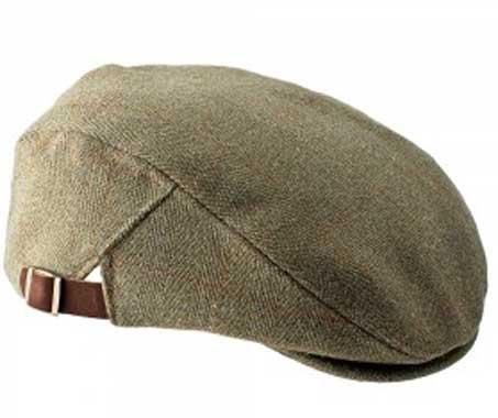 Adjustable Tweed Flat Cap