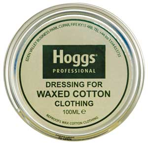 Hoggs Waxed Cotton Dressing for Waxed Clothing