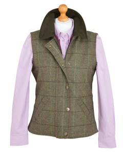 Hoggs of Fife Tweed Caledonia Waistcoat Country Casuals