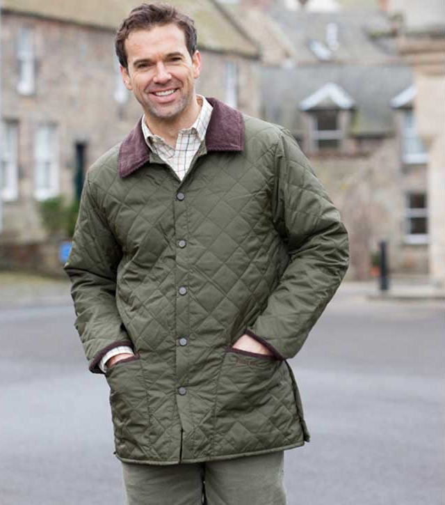 Hoggs of Fife Lauderdale Quilted Jacket