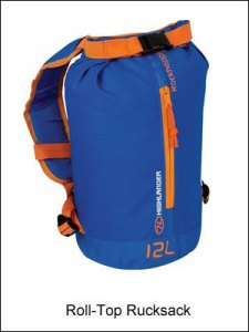Highlander Roll Top Rucksack