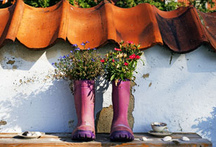 gardening wellies