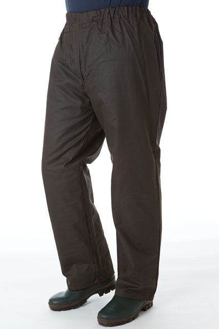 Sherwood forest trout wax over-trousers - sherwood clothing sale