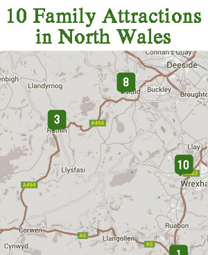 family attractions in north wales