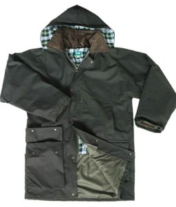 Hoggs woodsman wax jacket