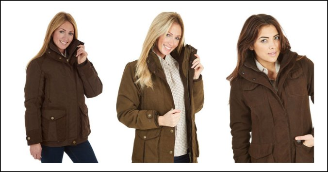 ladies country jackets