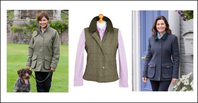 game fair ladies tweed jackets