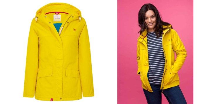 Womens waterproof beaufort jacket