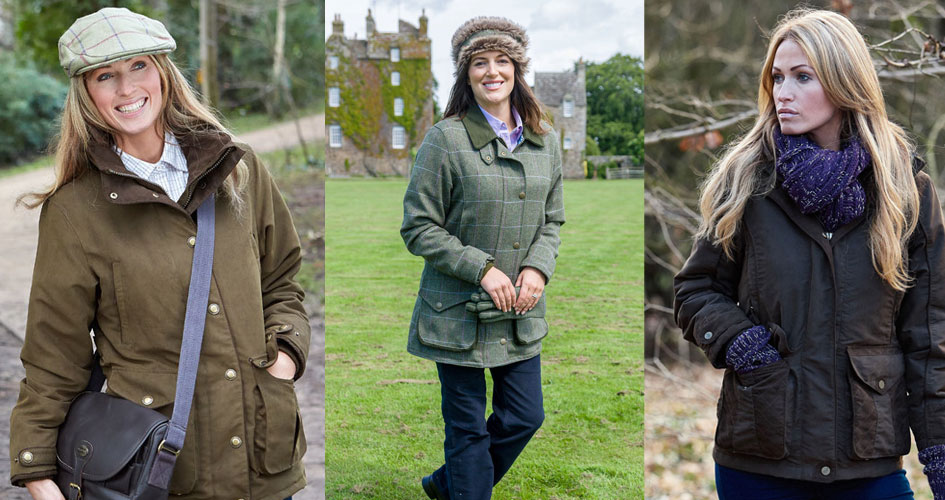 shooting jackets for ladies