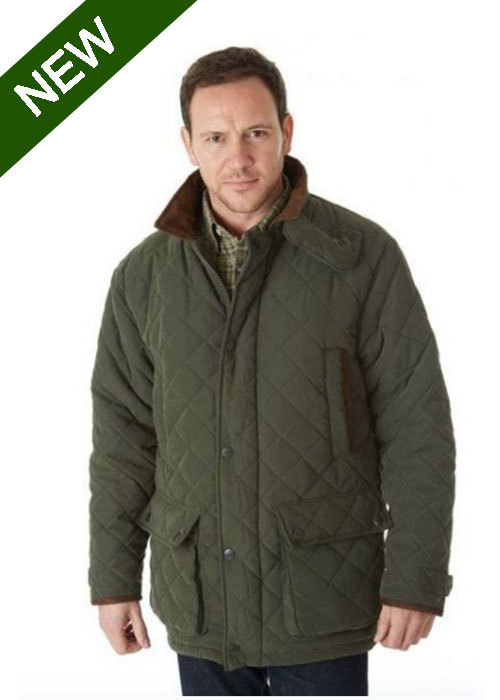 Sherwood Forest Seathwaite Quilted Jacket