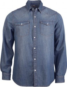Classic mens denim shirt
