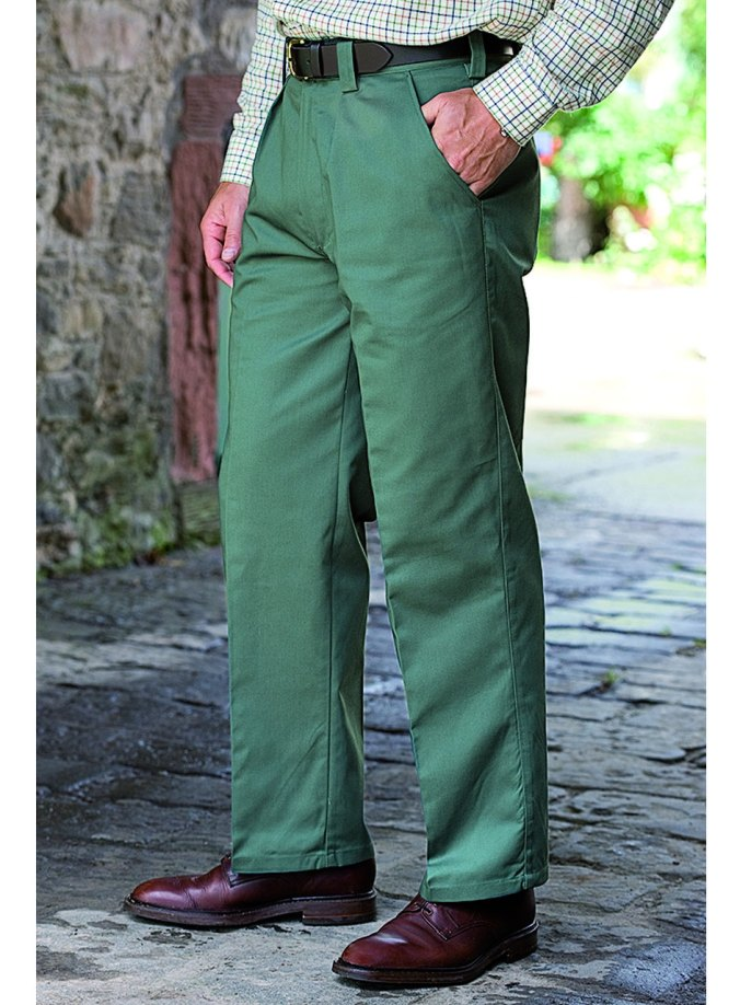 Lined work trousers