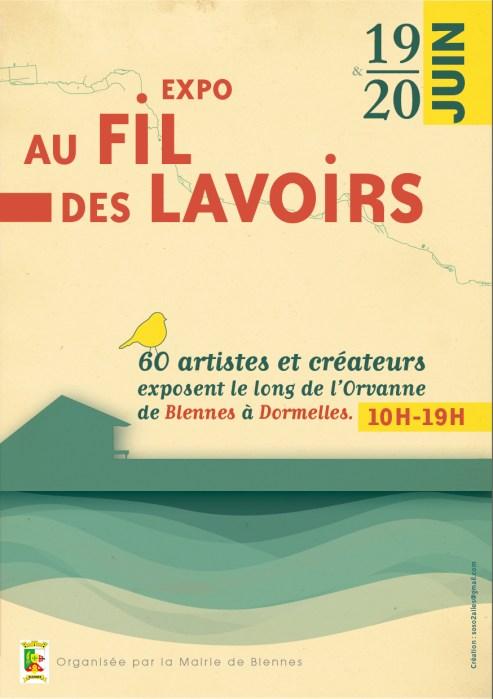 Exposition Au Fil des lavoirs de l'Orvanne