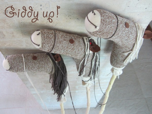 How to make a stick hobby horse Chickabug