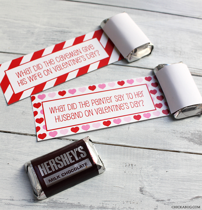 Free Printable Valentines Day School Lunch Box Jokes By