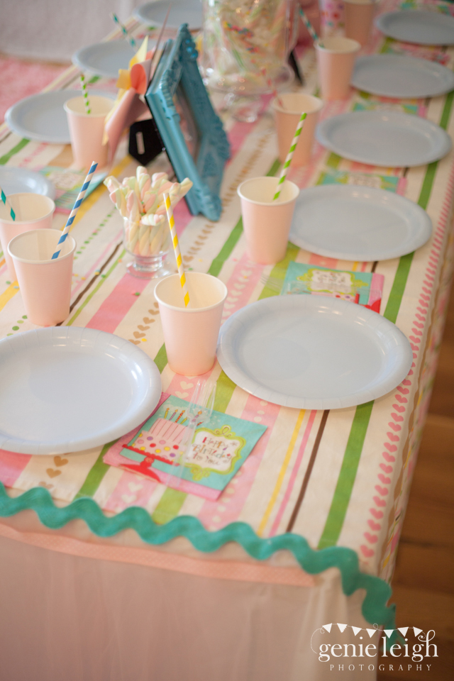 Pastel Rainbow Party Londyn Is 4 Chickabug