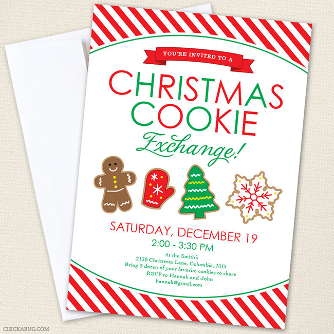 How To Host A Holiday Cookie Exchange FREE Printables