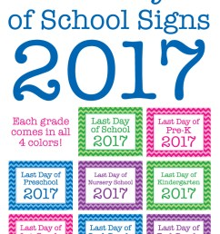 2017 Printable Last Day Of School Sign - Clipart Library • [ 1913 x 650 Pixel ]