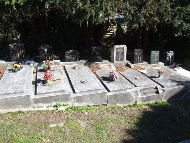 Chinese Graves in Wellington New Zealand