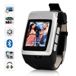 Discreet, cool watch phone with bluetooth