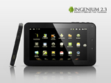 Ingenium 2.3 – Android 2.3 Tablet with 7 Inch Touchscreen