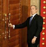 US ex-President George W. Bush