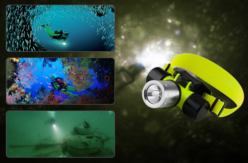 LED Flashlight Headlamp