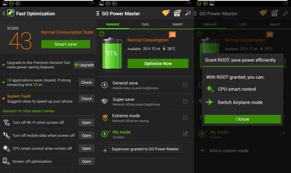 GoPower Widget