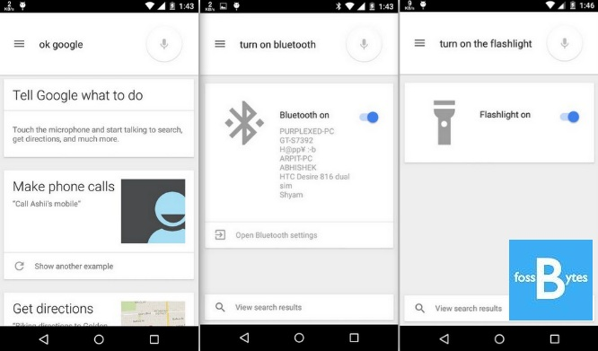 Google Search Lets you Toggle Android 5 0 settings with your voice