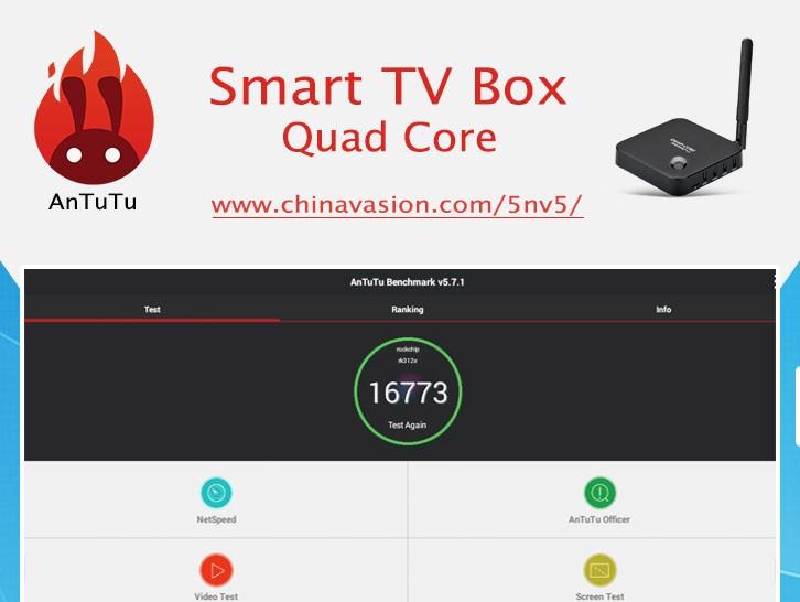 Android 4 4 Smart TV Box AnTuTu Benchmark Test
