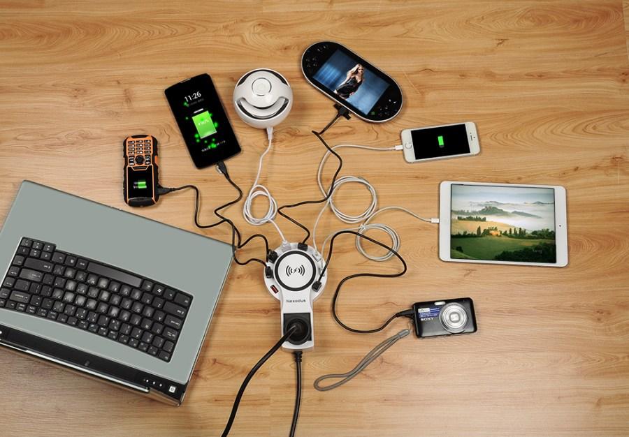 nexodus lifeline qi charging pad