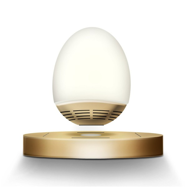ICE Orb Harmony Floating Bluetooth Speaker in Champagne
