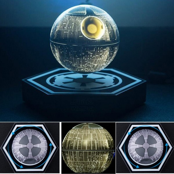 hellosy Star Wars Death Star Levitating Speaker